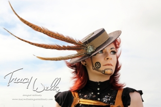 Tracy Wells designer Millinery,photography by PM Kell